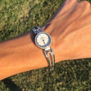Bulova crystal women's watch